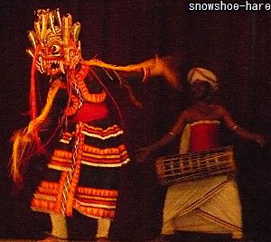 仮面の踊り