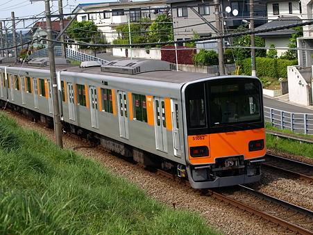東武50000系(つくし野駅付近)2