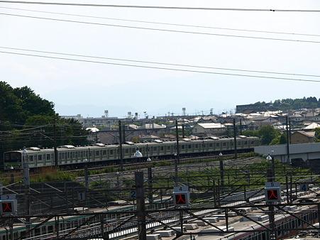 205系横浜線と長津田車庫3