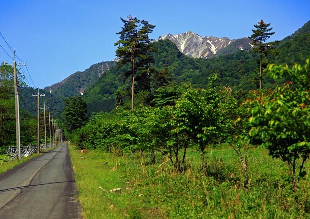 大山、東方向から。。