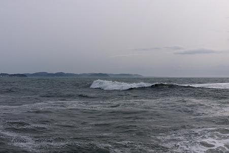 2010.03.16 境川 湘南港ヨットハバー 波