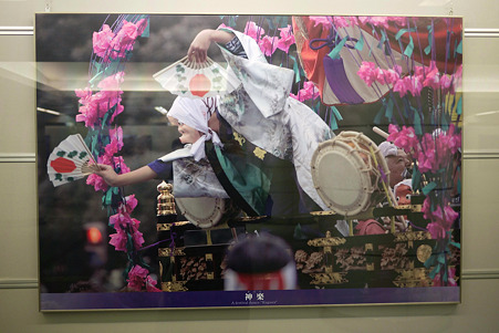 2010.04.16 行幸地下ギャラリー 江戸天下祭 神楽