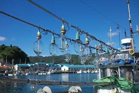 2010.10.29 山田町 山田港 イカ釣り漁船