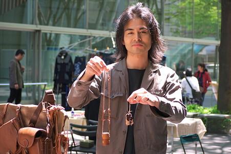 2011.04.24 東京国際ホーラム アート・手づくりフェスタ gakou 南澤雅浩さん