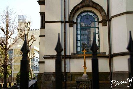 crossと・・窓と・・ ニコライ堂にて・・3