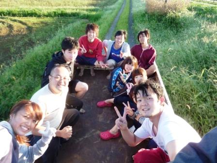 稲刈り事前作業'10 (1)