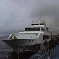 【横浜|お船】 はまどりに乗船(2) クイーンメリー号を見に行く
