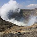 九州ツーリング・阿蘇山の噴火口