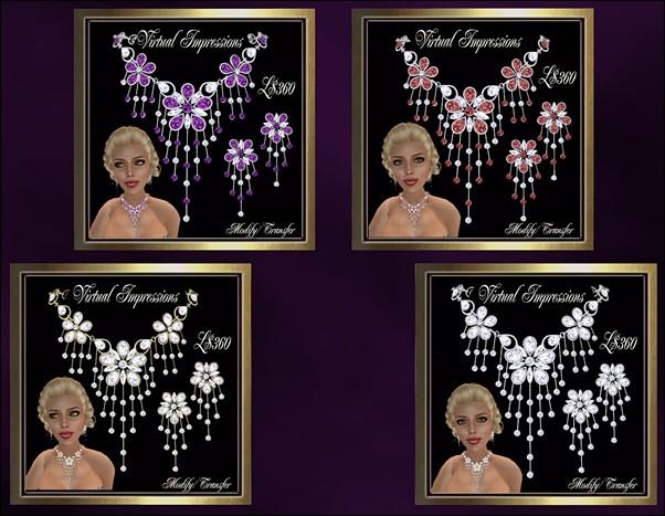Virtual Impressions Cheryl Jewelry Set
