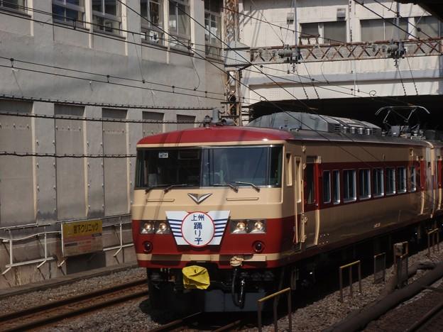 185 Series / fantasy JNR livery, 上州踊り子号 (2012年3月3日)