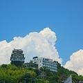 Photos: 初夏の千光寺山に雲の峰
