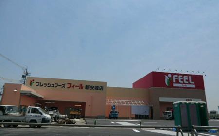 フィール新安城店・ Joshin 新安城店 2012年6月中旬 開店予定で外観完成-240524-1