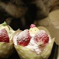 写真: ひなケーキ