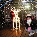 Photos: 山中湖・華の都イルミネーション 我が家のヤンキー娘?