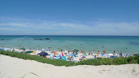 角島~しおかぜコバルトブルービーチ(1)