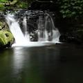 渓流の滝?