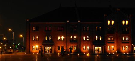 赤煉瓦の夜