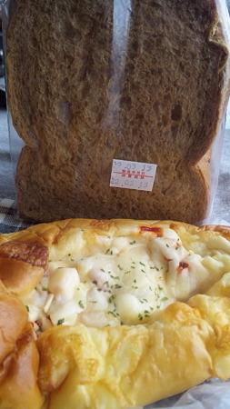 黒糖食パン・マヨ調理パン