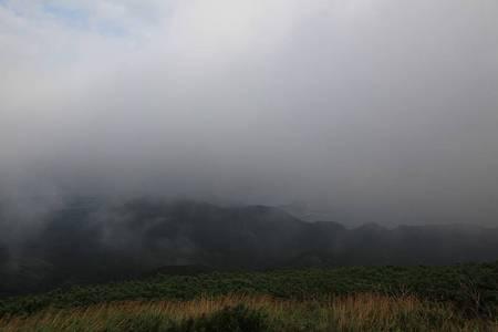 利尻岳-20100814-071526