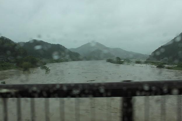 由良川洪水