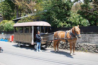 写真: 馬車