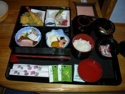 和食の夕飯