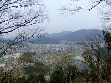 茶臼山山頂からの眺望