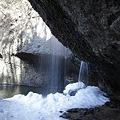 写真: 月待の滝 裏