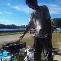 写真: @sheonite しおさんは海と肉が似合います(・∀・)♪